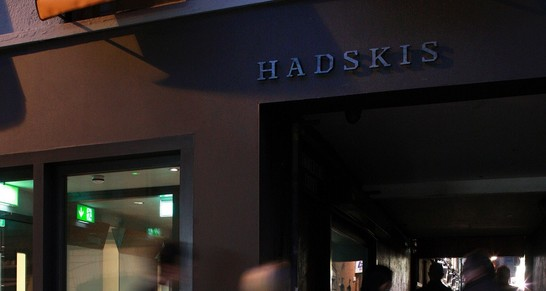 Hadskis Wine Monday, 3 course dinner for two with wine pairings
