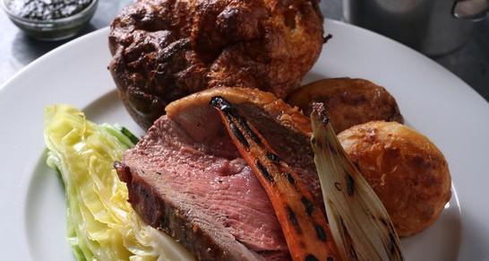 Sunday Lunch for two at James St to the value of £60